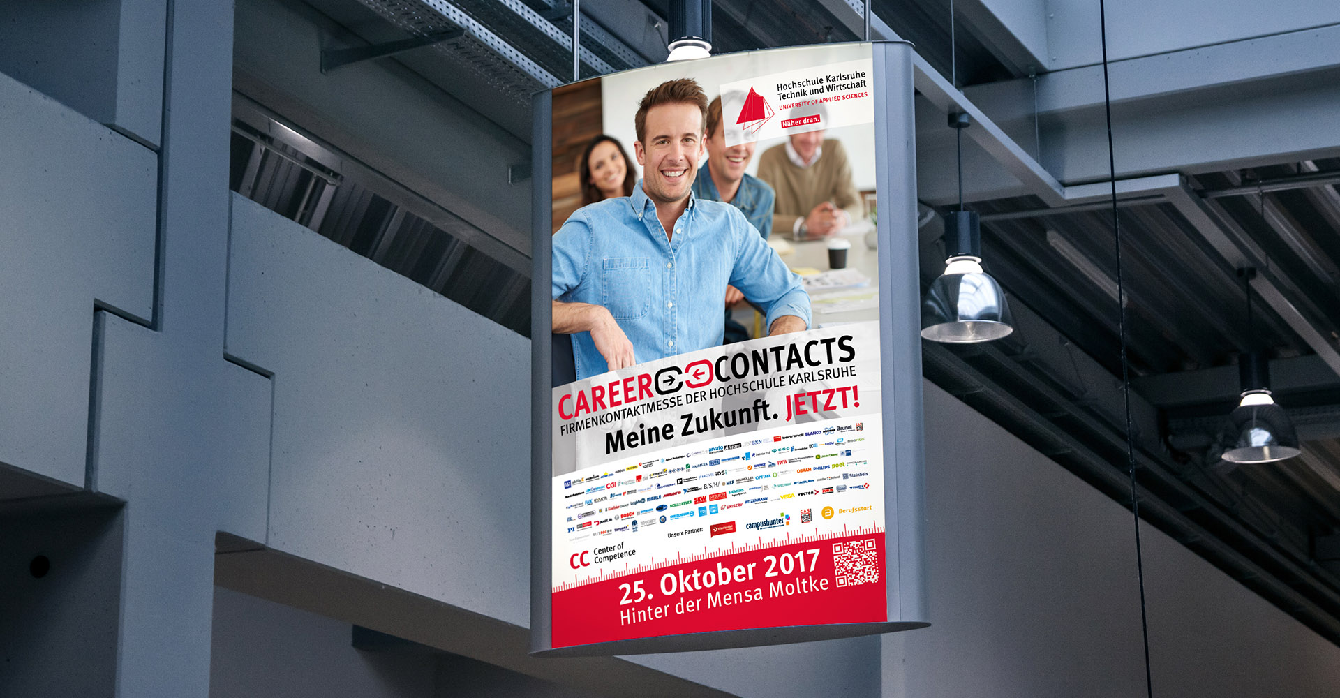 Plakat Hochschule Karlsruhe - careercontacts